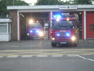 Notts Fire and Rescue Turning out