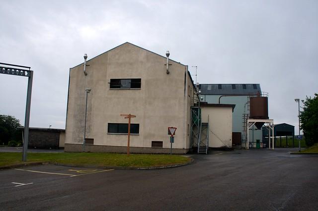 The new distillery
