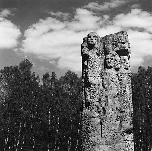 Monument of Fight and Martyrdom, (Wiktor Tolkin), Stutthof, by Michael Kenna 1998