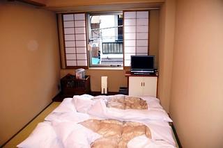 A004/Japan/Tokyo Asakusa Aréa/Little box as Ryokan's room