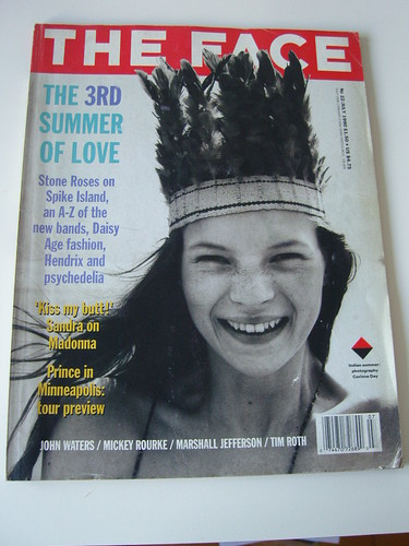 JULY 1990 NO.22- KATE MOSS