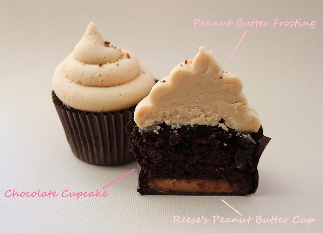 Reese's Peanut Butter Cup Cupcakes | Flickr - Photo Sharing!