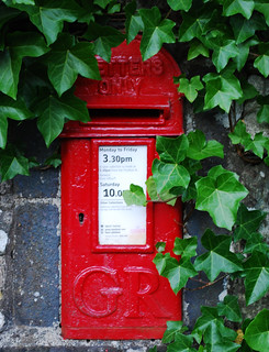 Lake District Post box