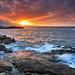 First 7D sunset, Ledge road Newport RI by benjacobsen