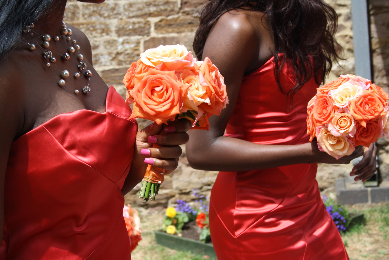 single flowers for weddings