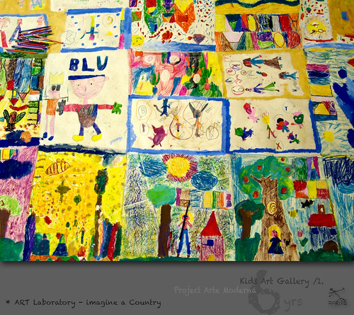 "6 yrs) _1* ART Laboratory: ""imagine a Country"" /Klee, Basquiat by SeRGioSVoX"
