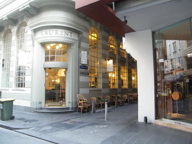 Laurent Cafe Little Collins Street