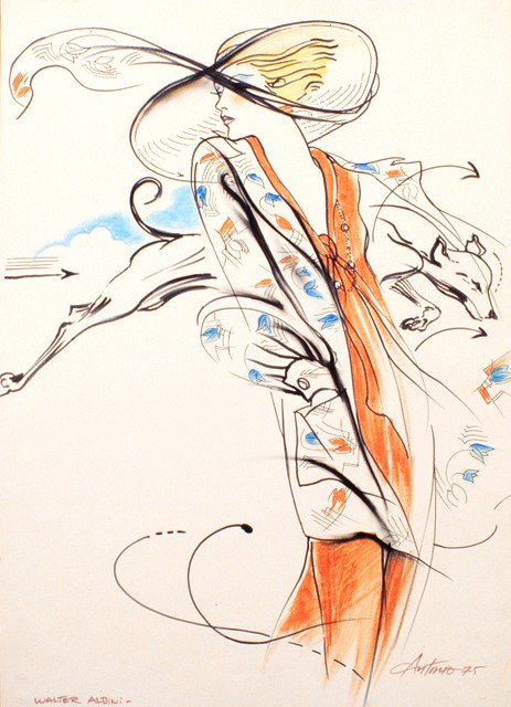 Fashion Illustration by Antonio