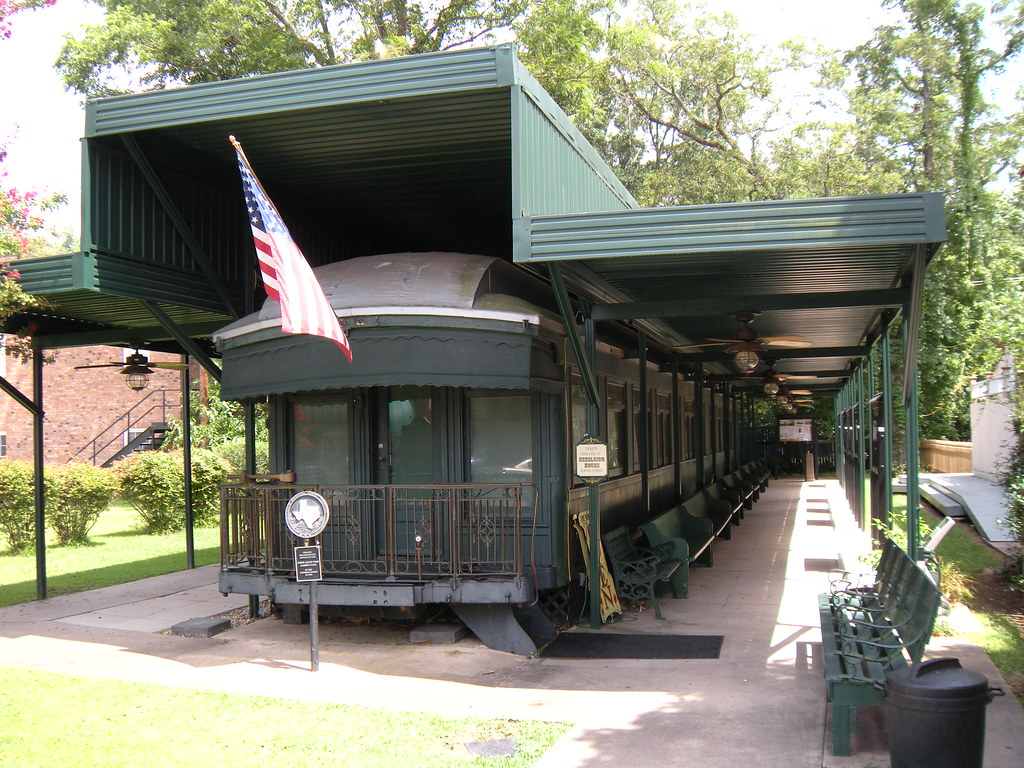 Jay Gould's Private Railroad Car, Jefferson, Texas