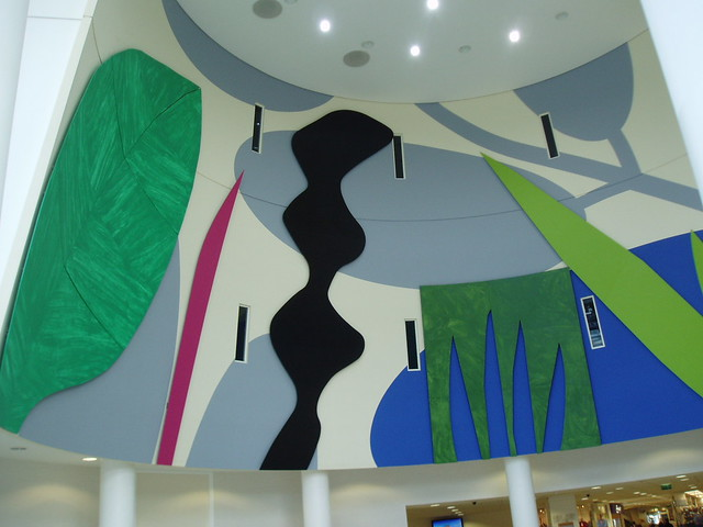 Atrium Mural University Hospital Walsgrave Coventry Flickr Photo Sharing