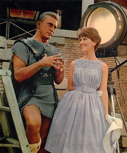 kirk_douglas_&_girl_1960