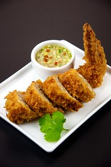 tonkatsu, panko, fried food, meat, food, dish, cuisine, fried chicken, fast food,