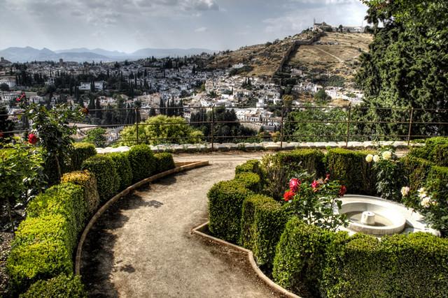 Generalife gardens alhambra granada jardines del genera for Generalife gardens