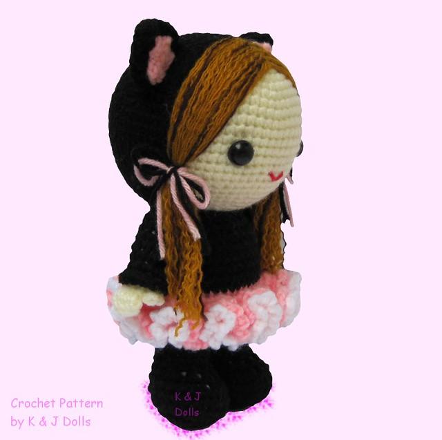 Amigurumi Which Side Is Right Side : bella ballerina amigurumi doll crochet pattern side right ...