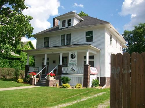 Roethke family home Saginaw, MI
