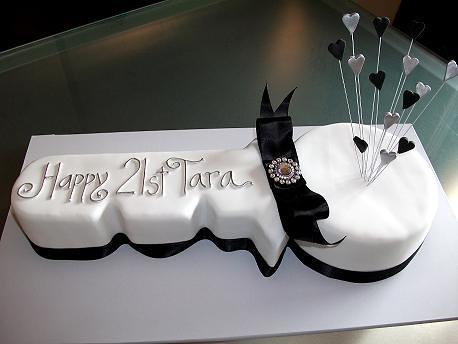 21st Birthday Key Cake A Photo On Flickriver