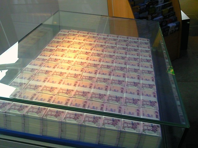 One Million Pounds At The Museum On The Mound Edinburgh
