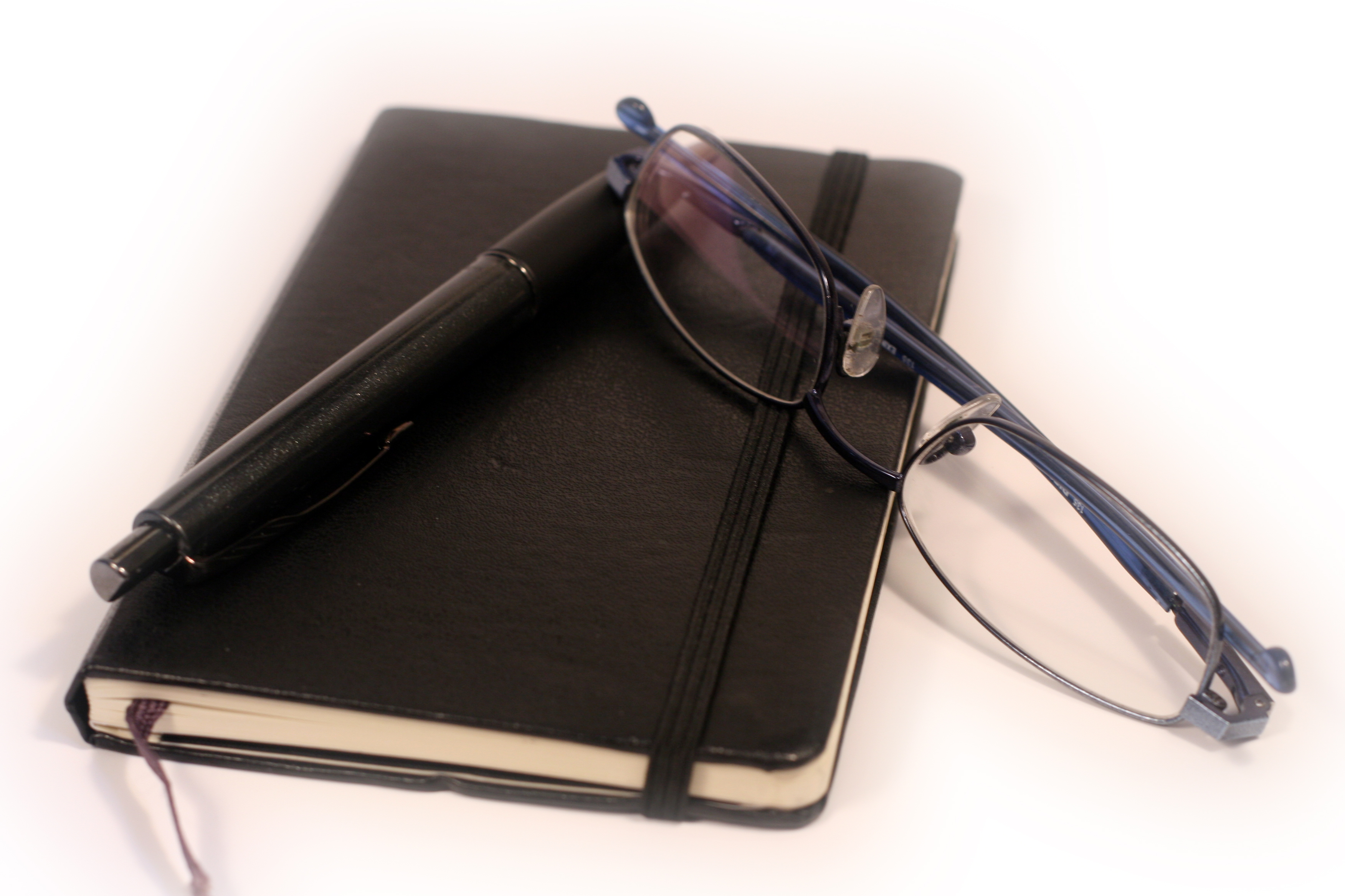 Pen Diary And Glasses Flickr Photo Sharing!. Full resolution  image, nominally Width 3504 Height 2336 pixels, image with #9B4D30.