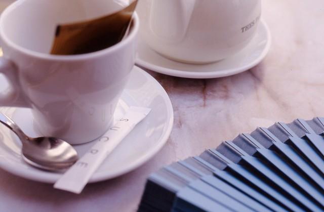thé et sucre