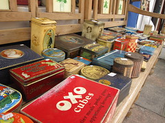 Tins at Portobello Road Market