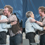 Newport Folk Festival: Levon Helm and Glen Hansard