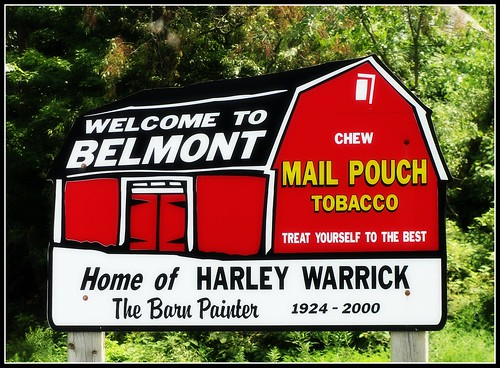 ohio signs barn community belmont places mailpouch painter welcome roadside eastern tobacco upperohiovalley erjkprunczyk oh149 harleywarrick