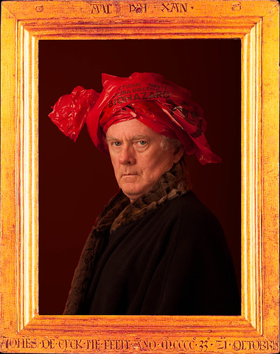 Self Portrait - Remembering Jan Van Eyk - Bio Hazard