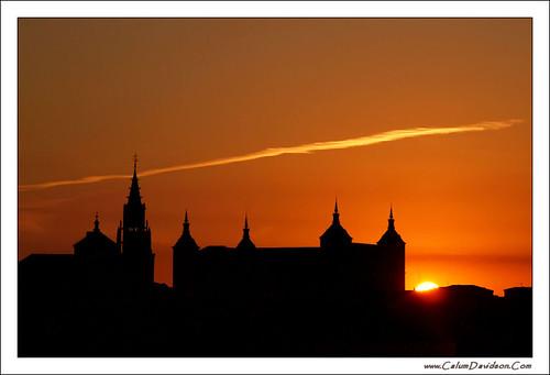sunrise spain toledo alcazar espania 2010