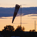 Small photo of Windsock At Sunset