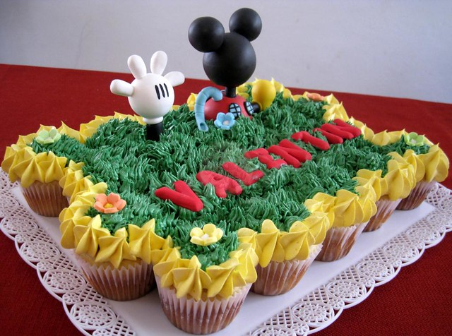 La casa de Mickey Mouse, torta de 20 cups regulares! | Flickr - Photo ...