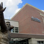 Boston University: Agganis Arena - Harry Agganis statue