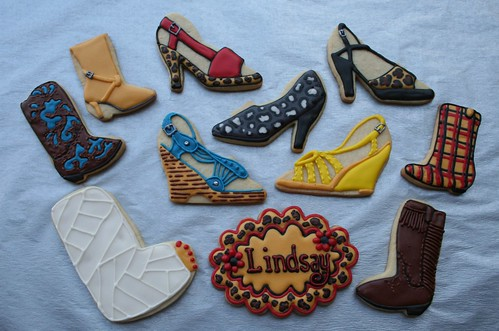High Heel Cookies