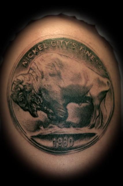 Buffalo tattoo - photo#2
