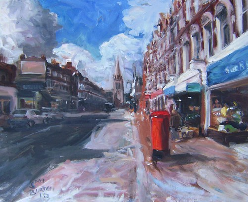 Muswell Hill Summer View Painting