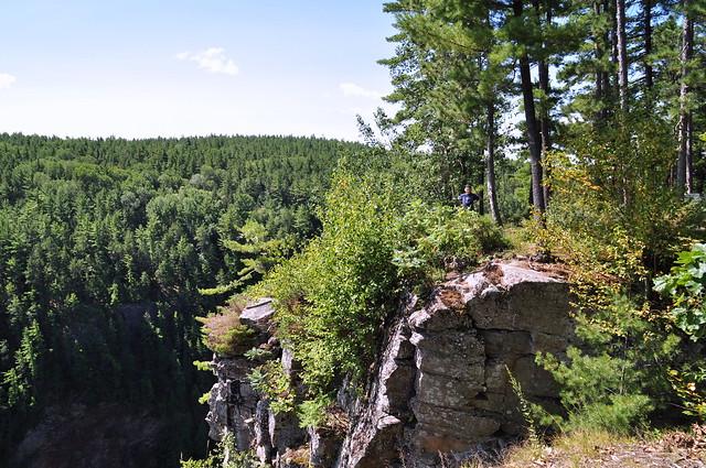 Barron Canyon Trail in Algonquin Park