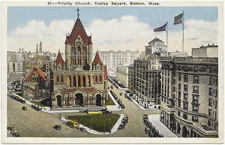 Trinity Church, Copley Square, Boston, Mass. [front]