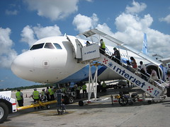 Interjet Plane leaving From Cancun