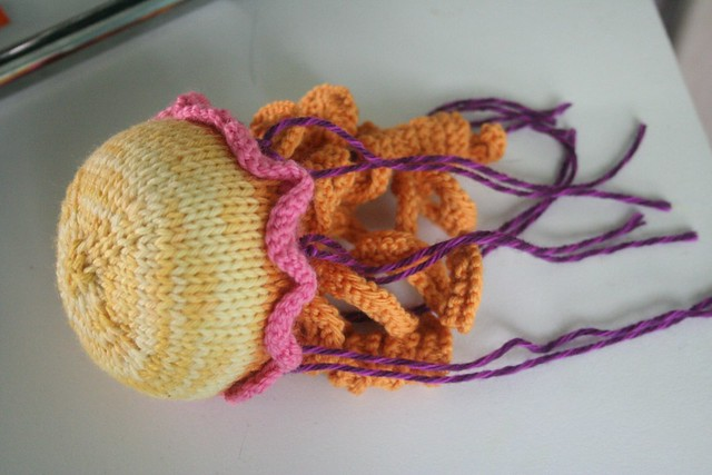 Knitting Pattern For Jellyfish : knitted :: jellyfish Flickr - Photo Sharing!