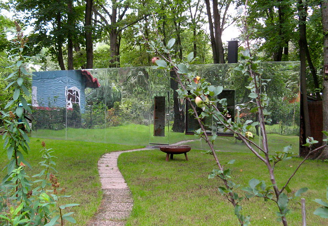 Mirror house in the woods flickr photo sharing - The house in the woods ...