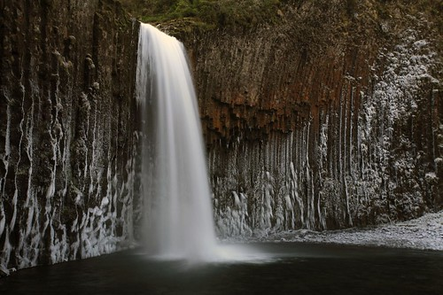 Abiqua falls, winter 2009