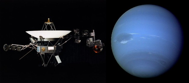 voyager 2 and Neptune | Flickr - Photo Sharing!