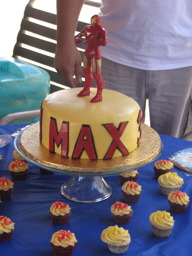 Iron Man Birthday Cake A Photo On Flickriver
