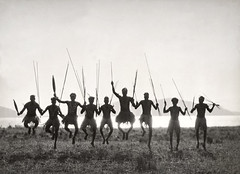 Aboriginal dance, Palm Island, Queensland, Australia, by E.O. Hoppe 1930