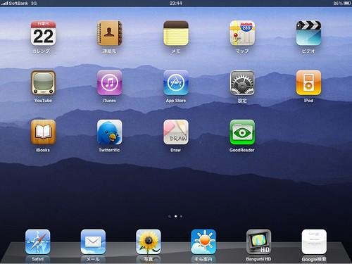 両親用iPadにインストールしたアプリセット-1/2 (案)