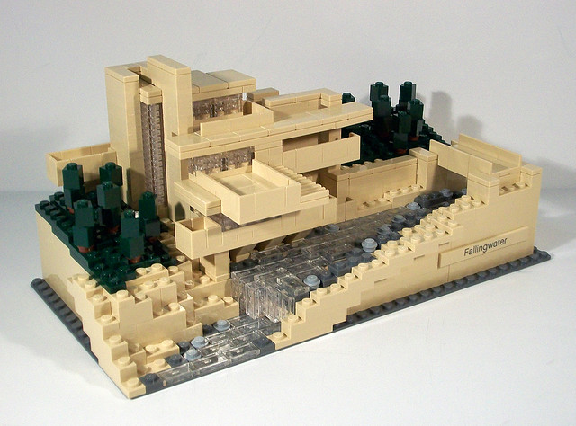 Review 21005 fallingwater special lego themes eurobricks forums - Falling waters lego ...