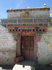 Porte tibétaine