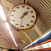 Bethnal Green station clock by LewisK