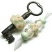 Floral Key Bead by Beads By Laura
