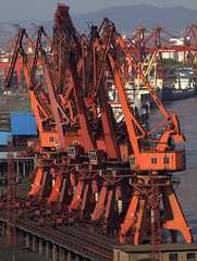 port, machine, vehicle, transport, industry, construction equipment, iron, crane, oil field,