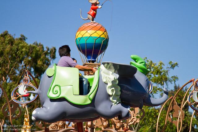 Disneyland Aug 2010 - Wandering around Fantasyland